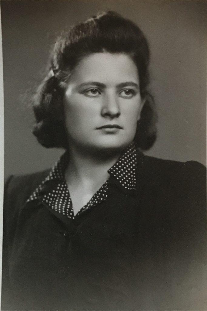 Kati, pre-war, age 18